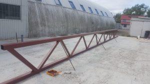 Изготовление и окраска металлических ферм