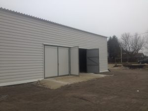 Завершение строительства склада из профлиста