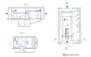 Схема моечного робота