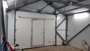 Конструкция теплого гаража