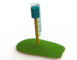 Компьютерная модель водонапорной башни