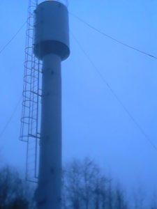 Башня смонтирована